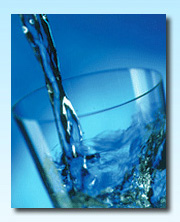 Glass of drinking water analysis - sample reports page